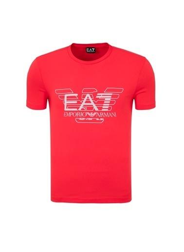 EA7 Emporio Armani Tişört Kırmızı